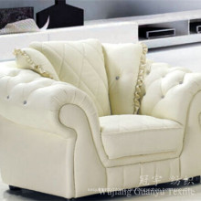 Dekoratives Sofa Stoff 100% Polyester Leder